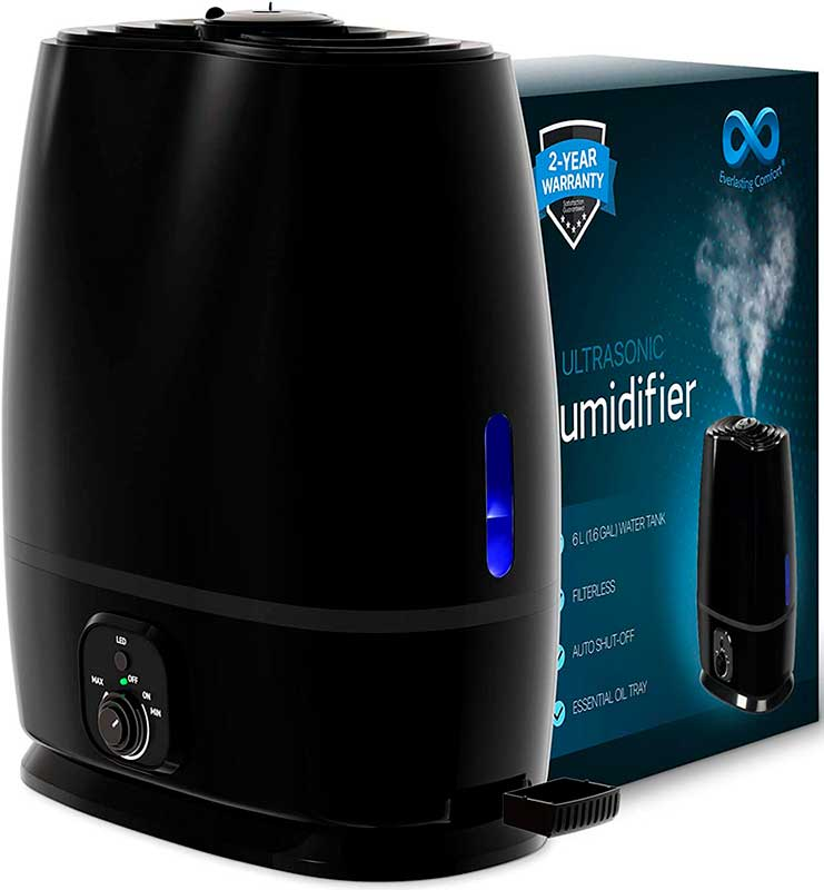 Everlasting Comfort Humidifiers for Bedroom EC-H (6L)